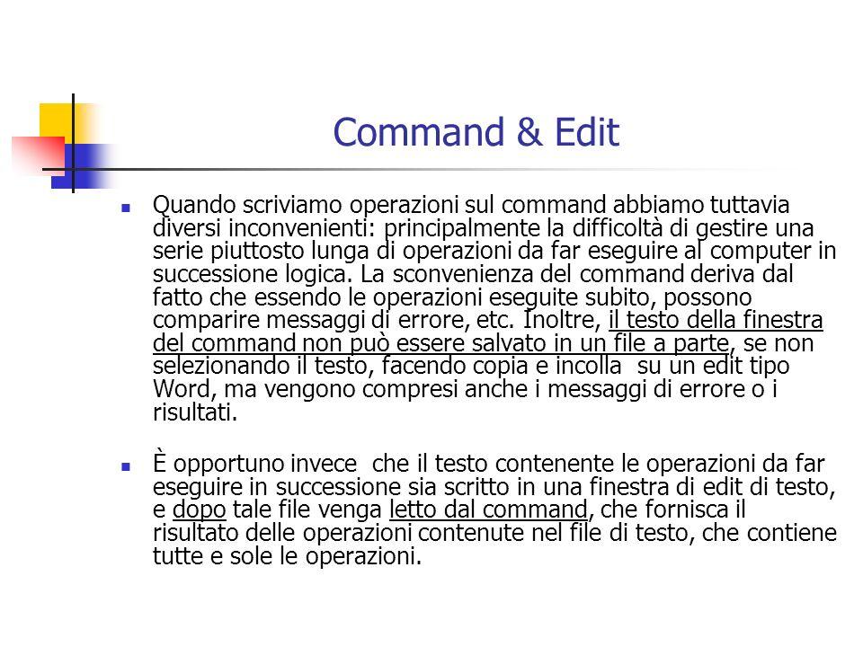 Command & Edit