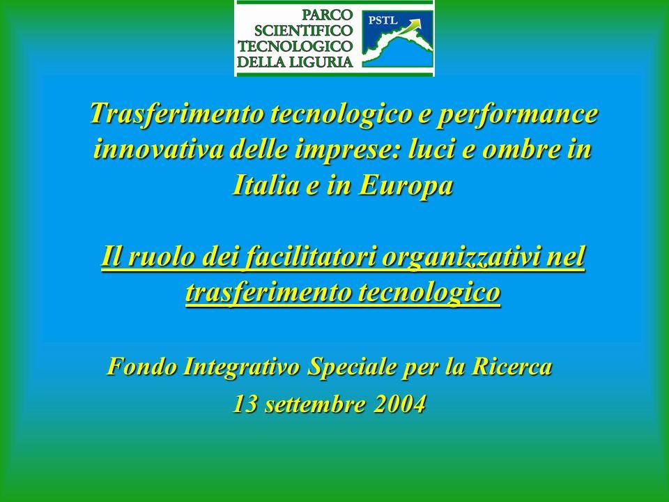 Fondo Integrativo Speciale per la Ricerca 13 settembre 2004