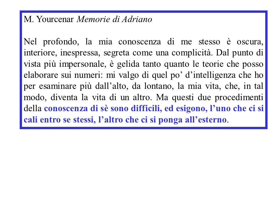M. Yourcenar Memorie di Adriano