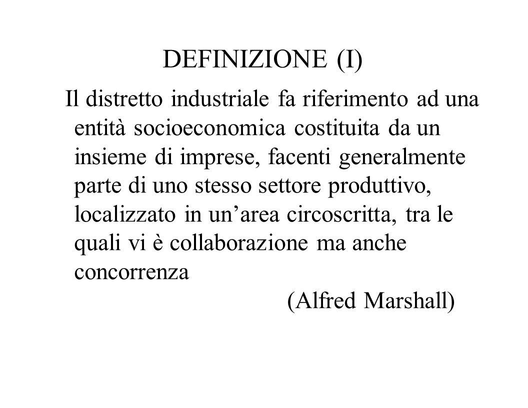 DEFINIZIONE (I)