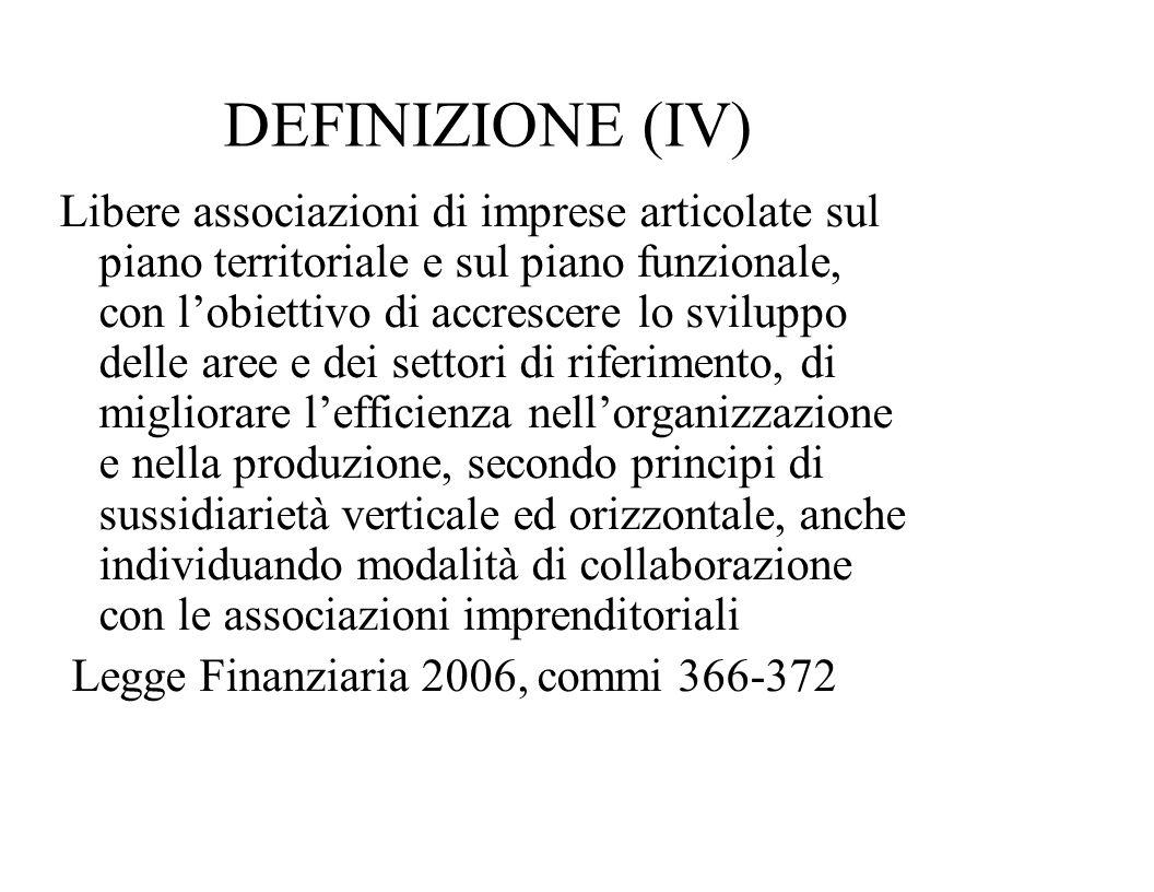 DEFINIZIONE (IV)