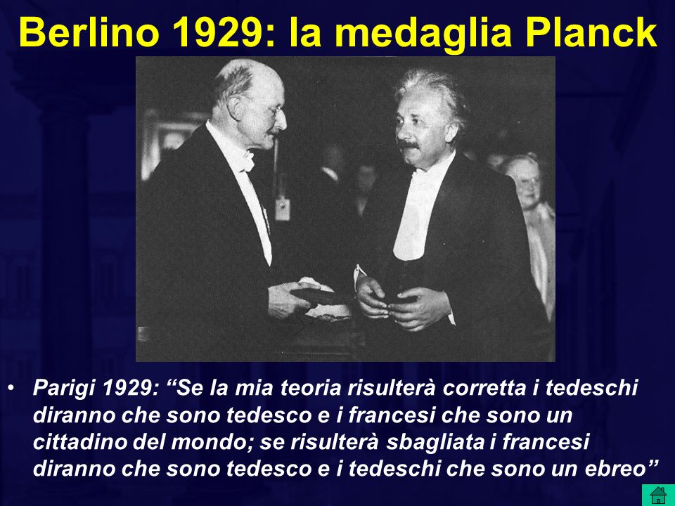 Berlino 1929: la medaglia Planck