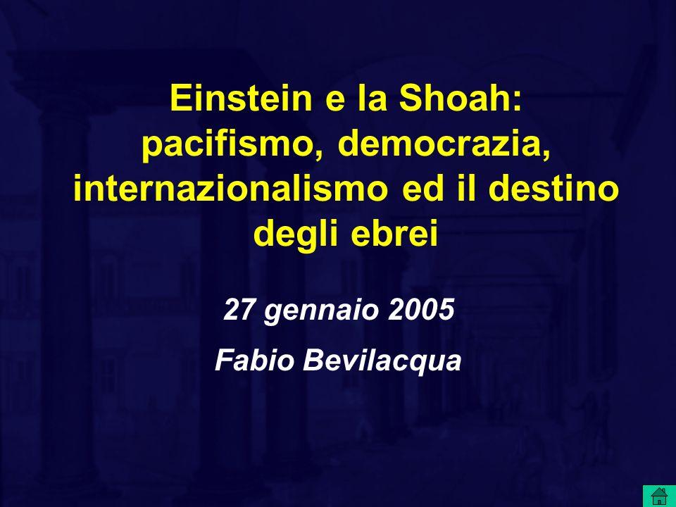 27 gennaio 2005 Fabio Bevilacqua