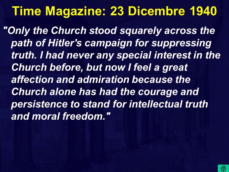 Time Magazine: 23 Dicembre 1940