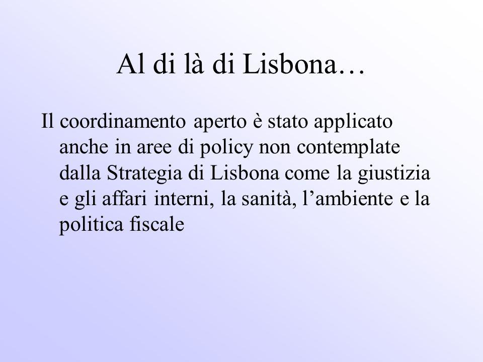 Al di là di Lisbona…