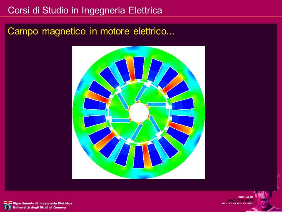 Campo magnetico in motore elettrico...