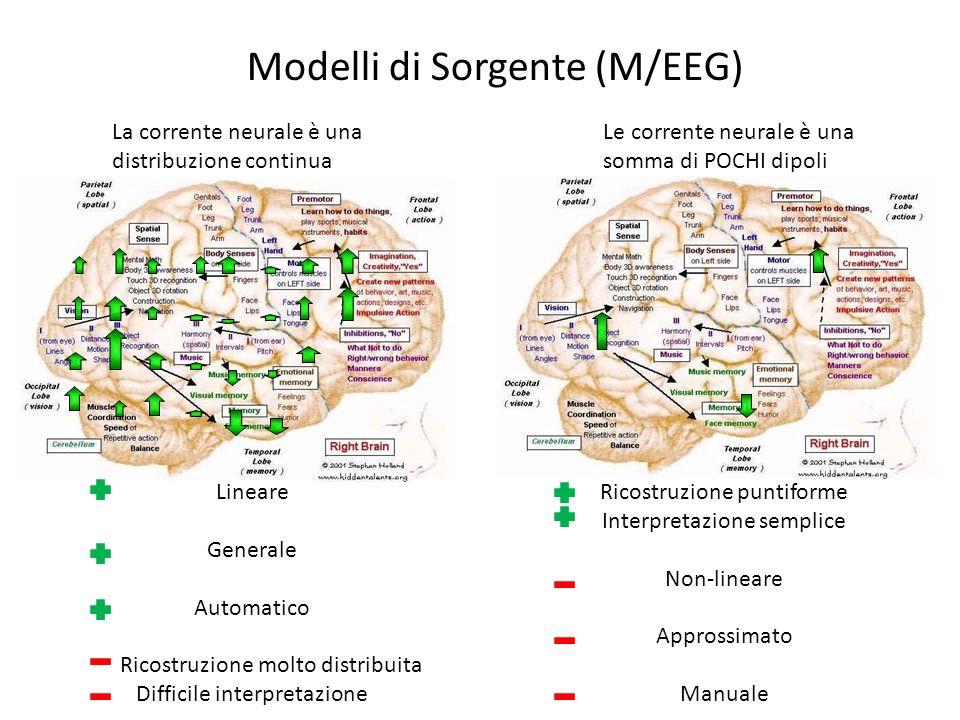 Modelli di Sorgente (M/EEG)