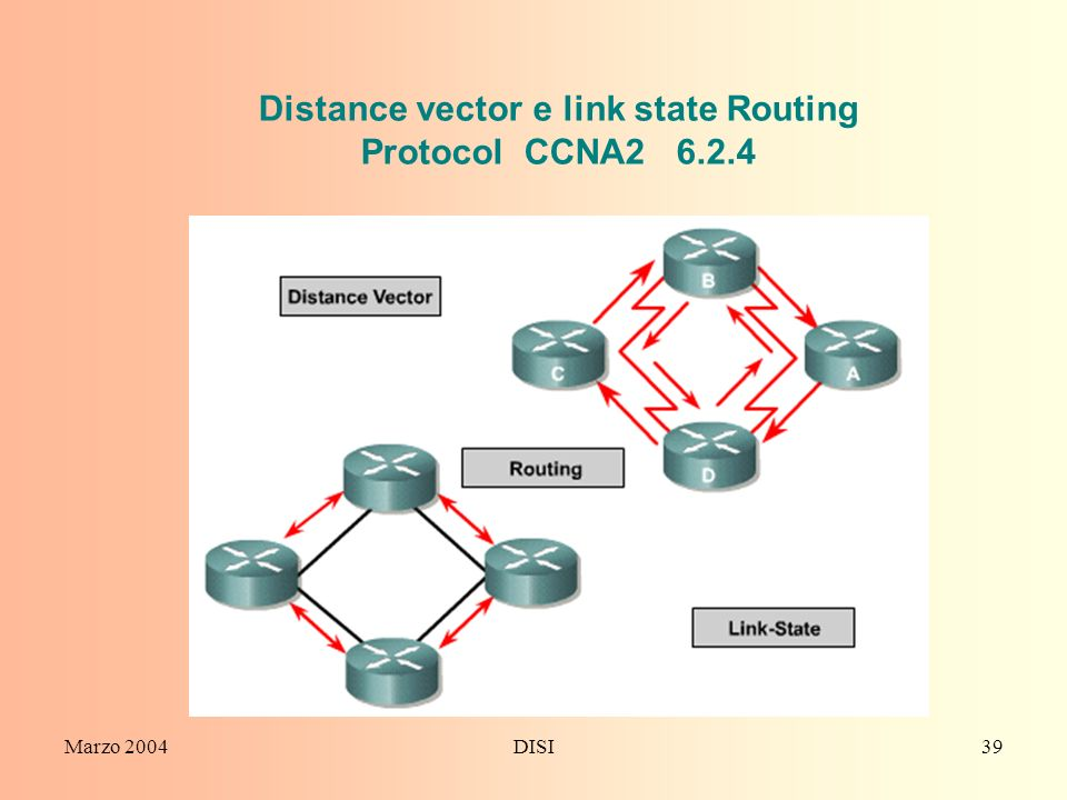 Distance vector e link state Routing Protocol CCNA