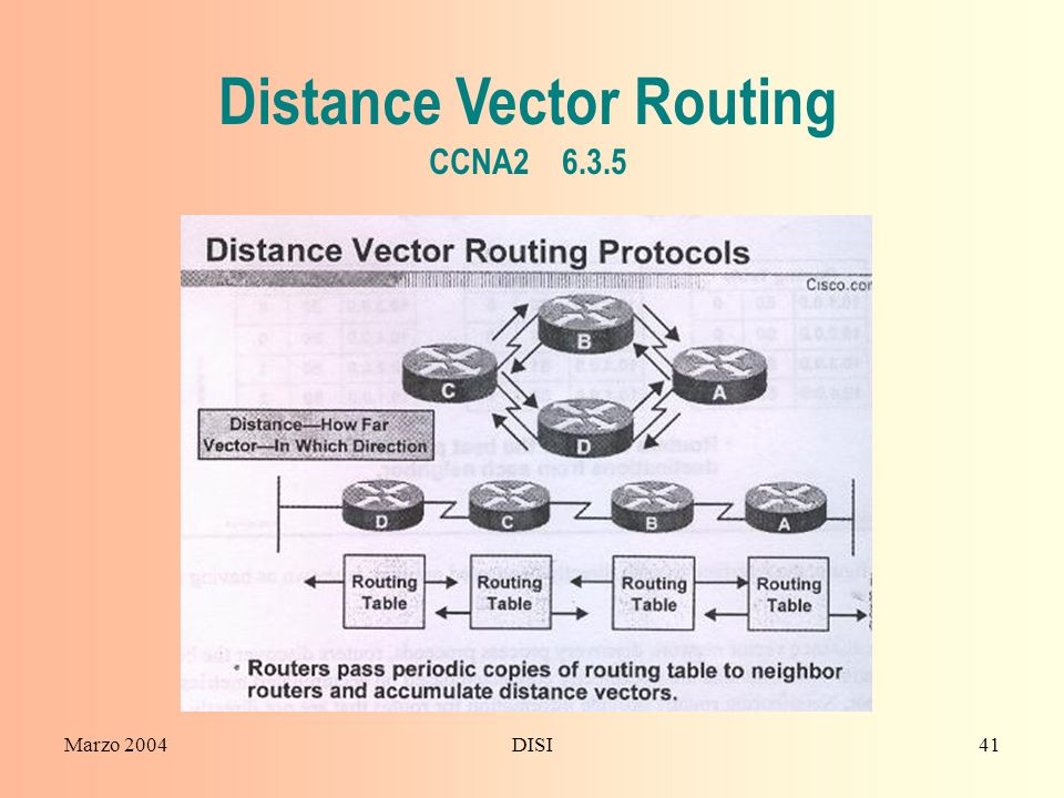 Distance Vector Routing CCNA