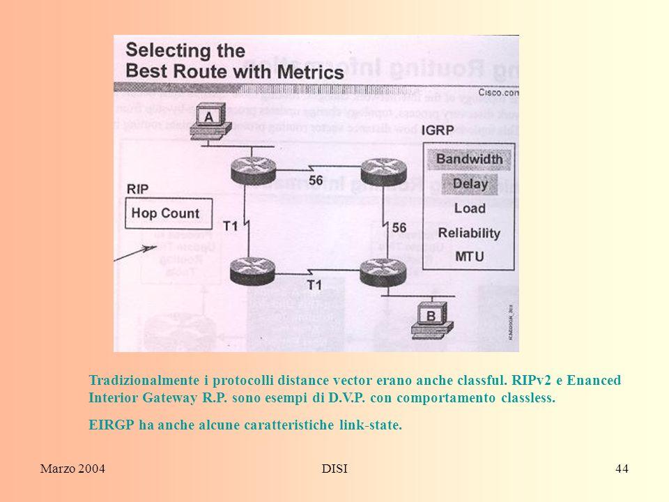EIRGP ha anche alcune caratteristiche link-state.