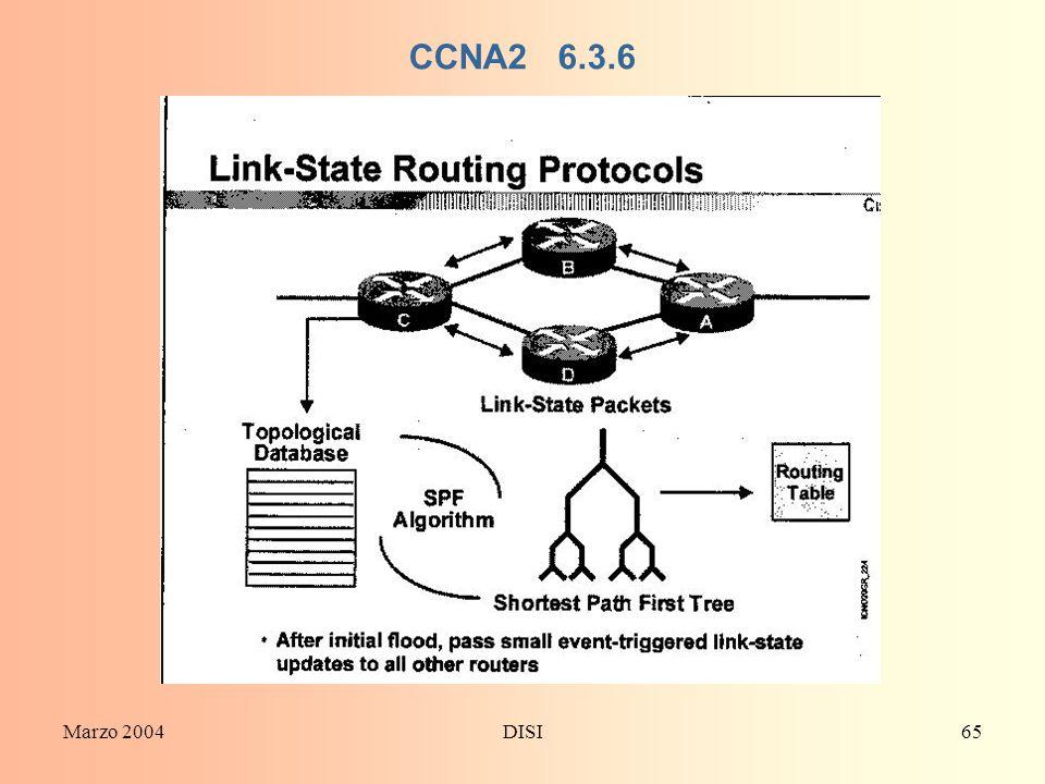 CCNA2 6.3.6 Marzo 2004 DISI