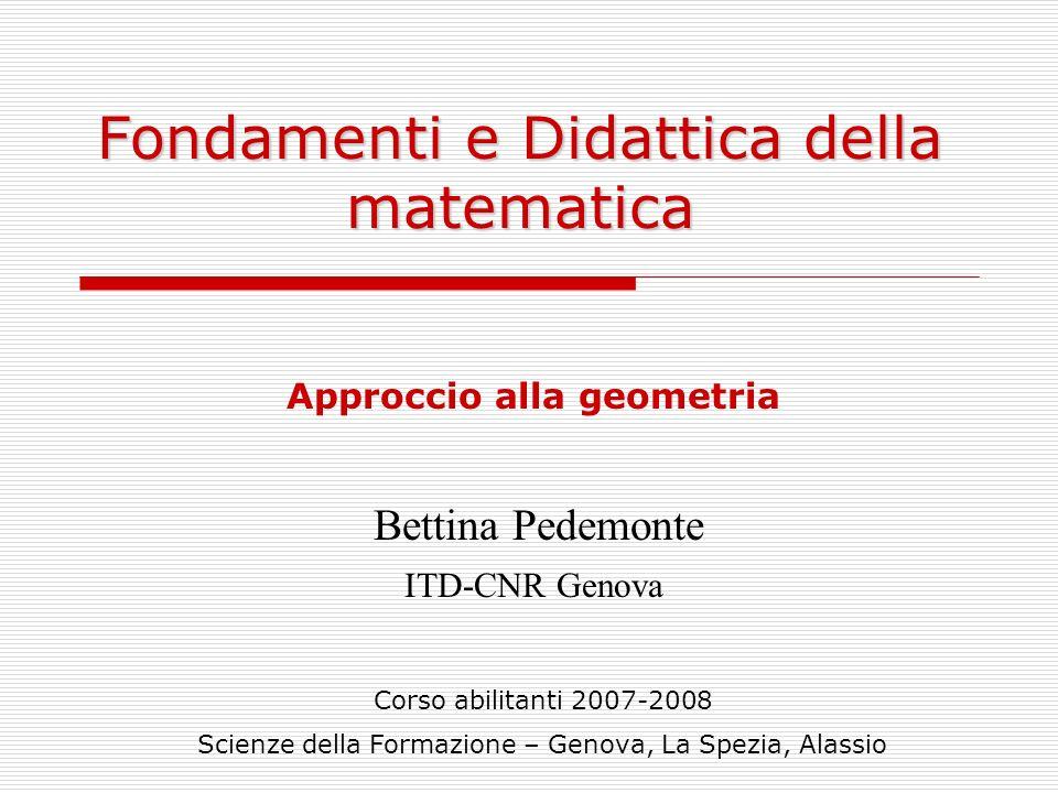 Fondamenti e Didattica della matematica