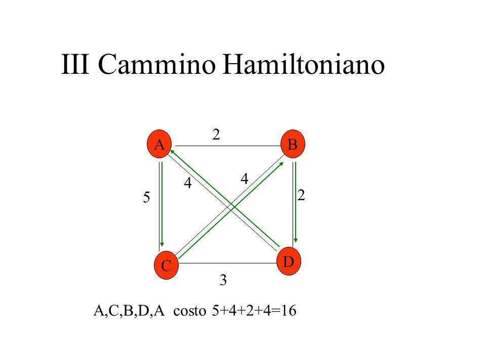 III Cammino Hamiltoniano