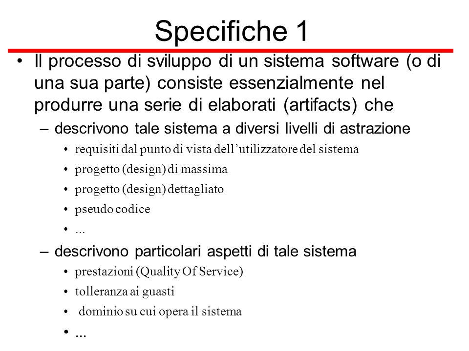 Specifiche 1