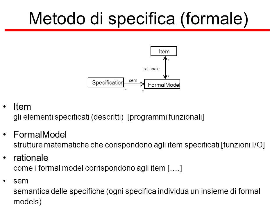 Metodo di specifica (formale)