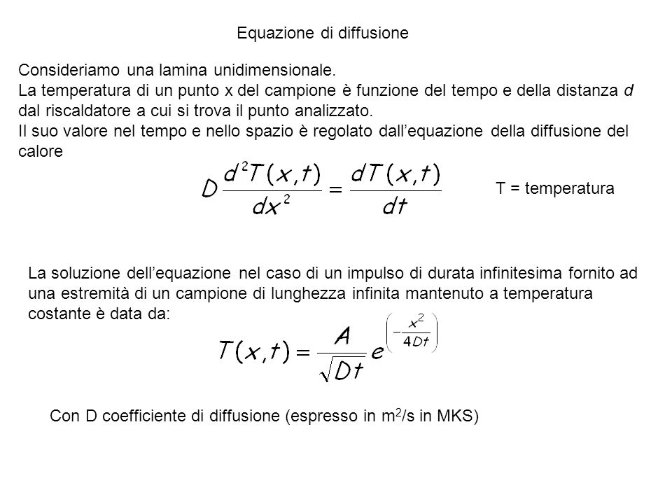 Equazione di diffusione