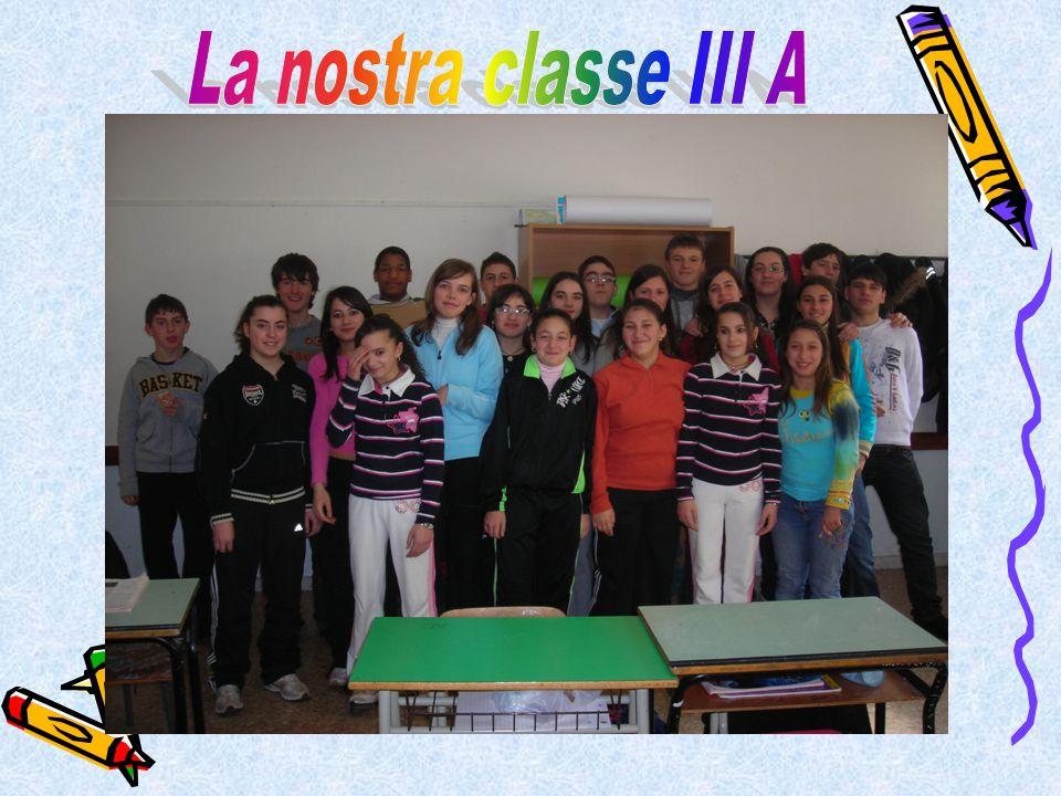 La nostra classe III A