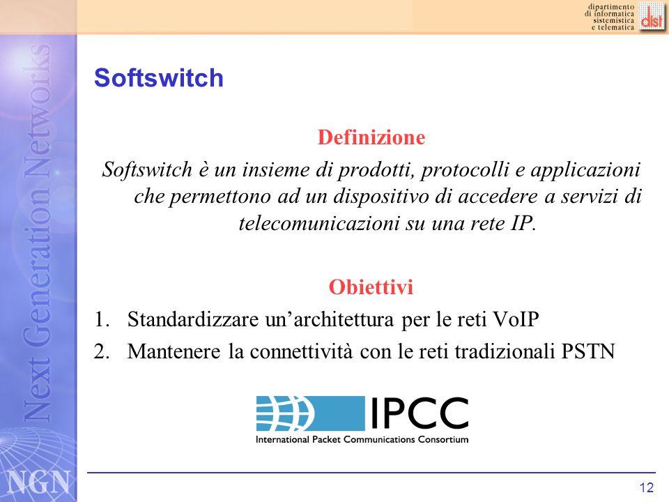 Softswitch Definizione