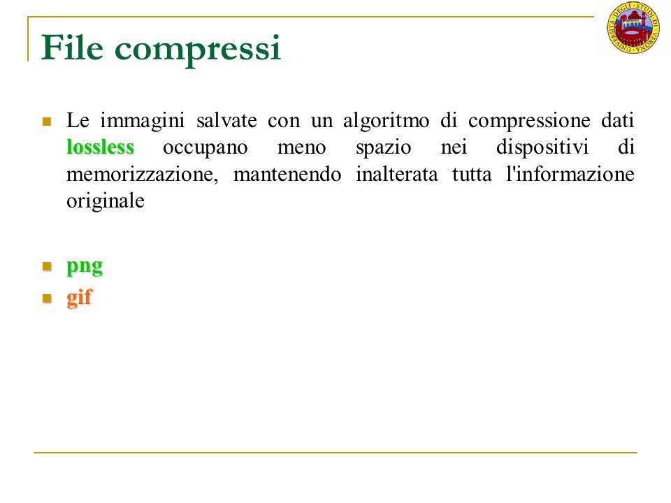 File compressi