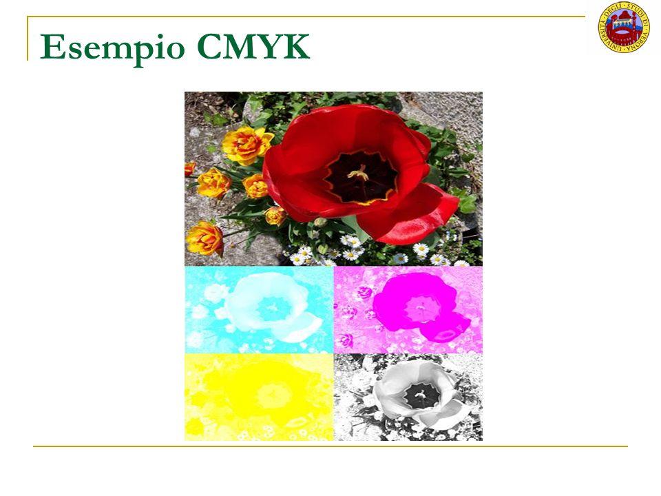 Esempio CMYK