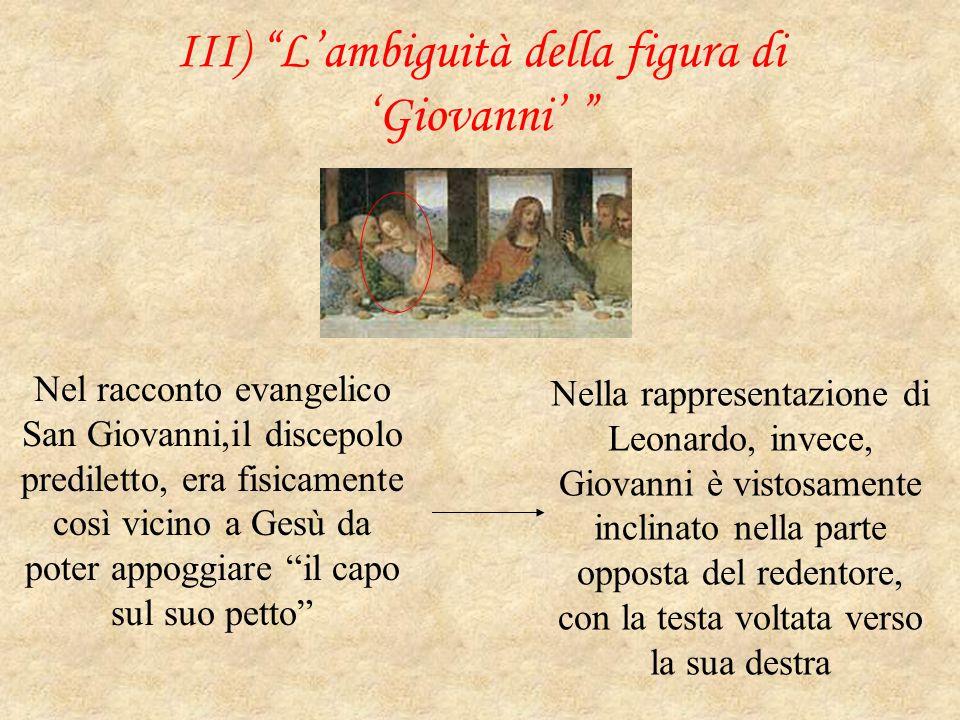 III) L'ambiguità della figura di 'Giovanni'