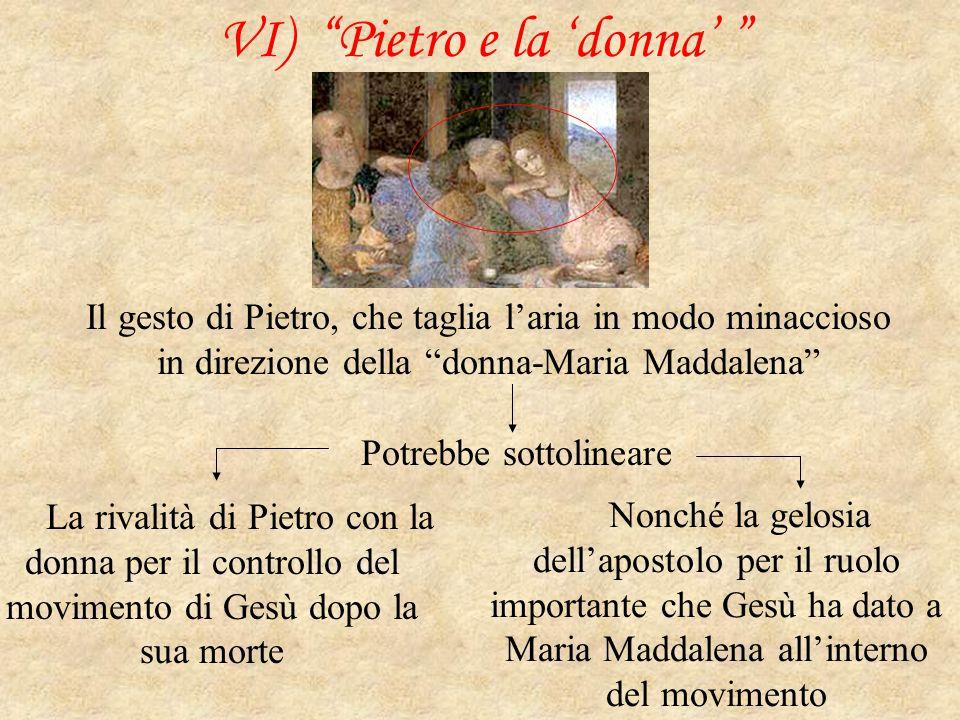 VI) Pietro e la 'donna'