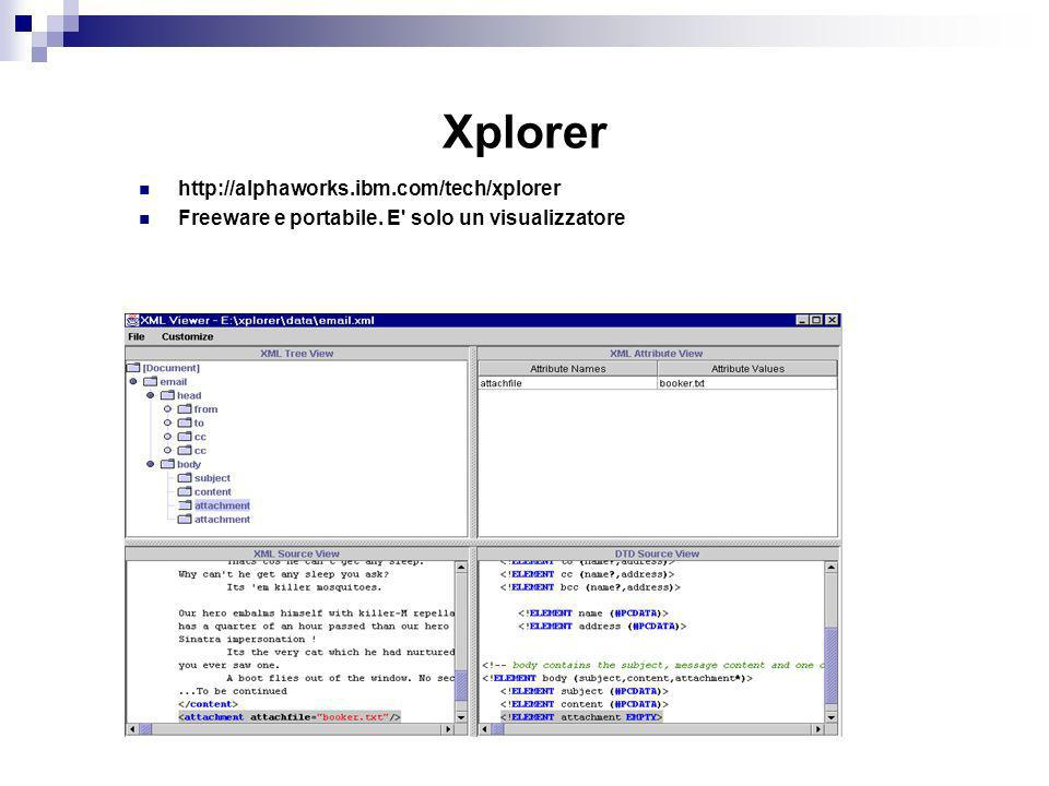 Xplorer http://alphaworks.ibm.com/tech/xplorer