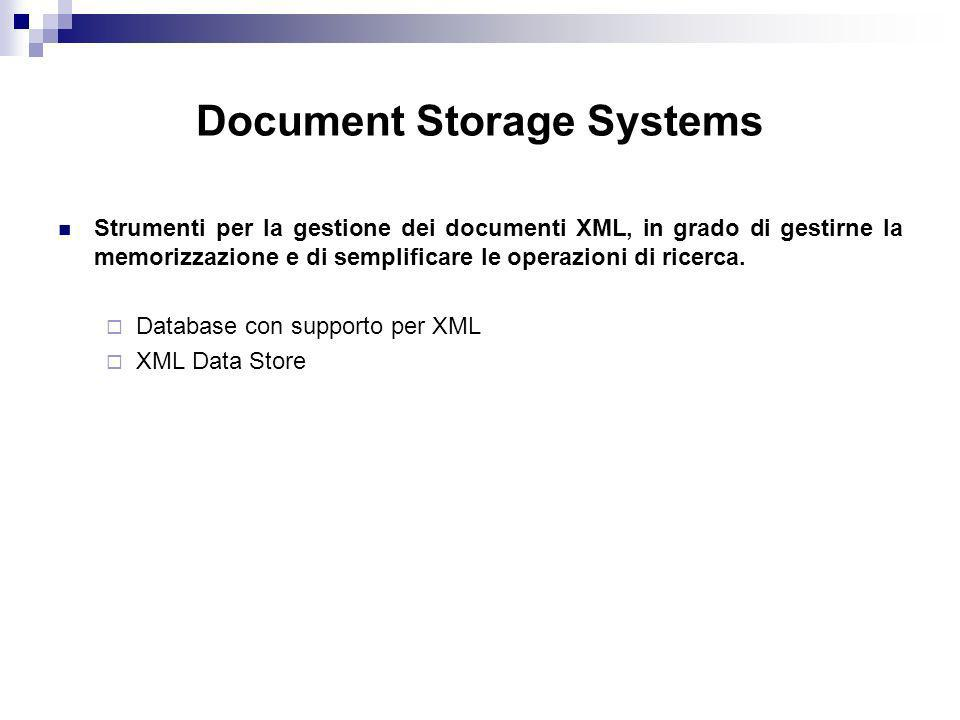 Document Storage Systems