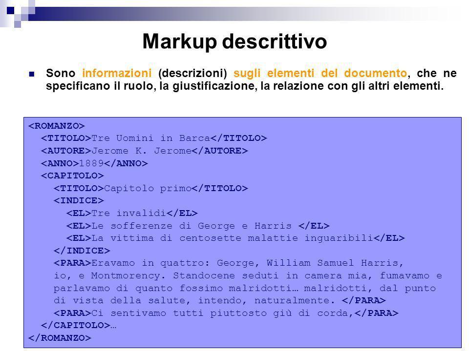 Markup descrittivo