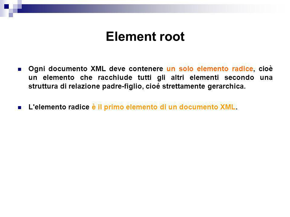 Element root