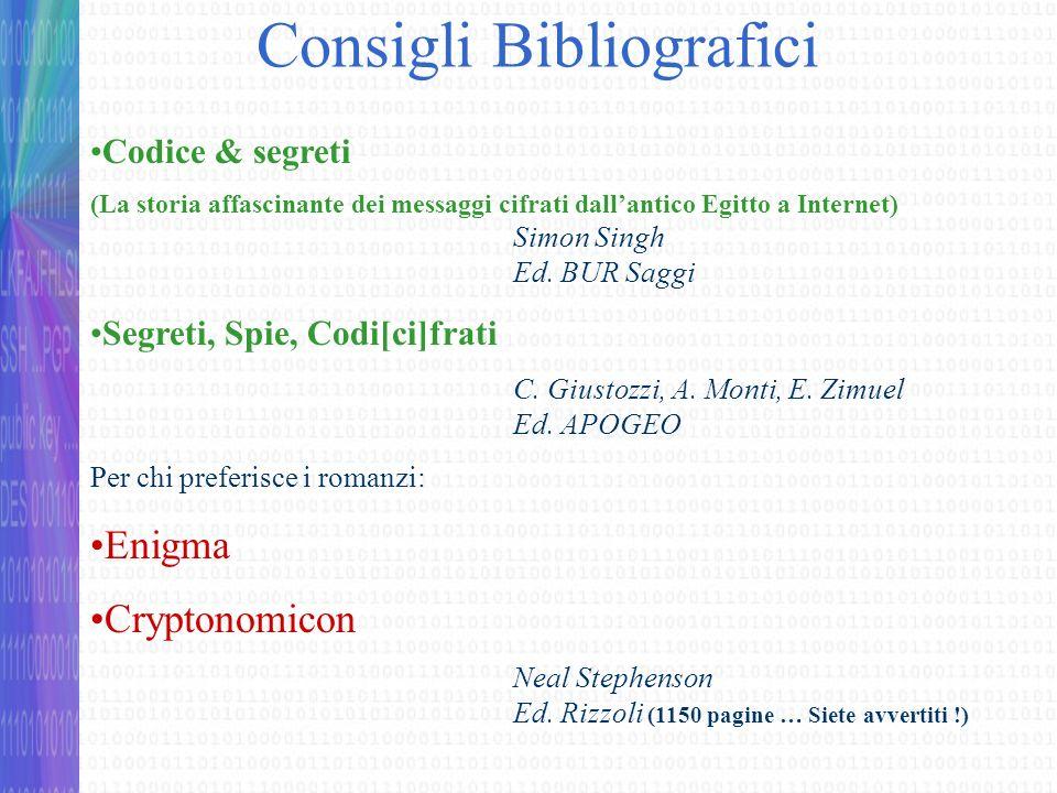 Consigli Bibliografici
