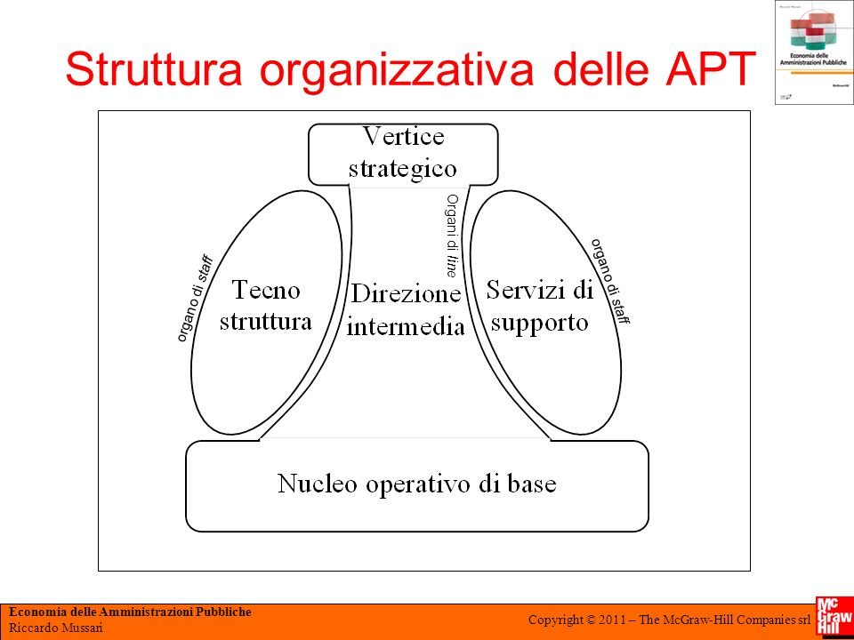Struttura organizzativa delle APT