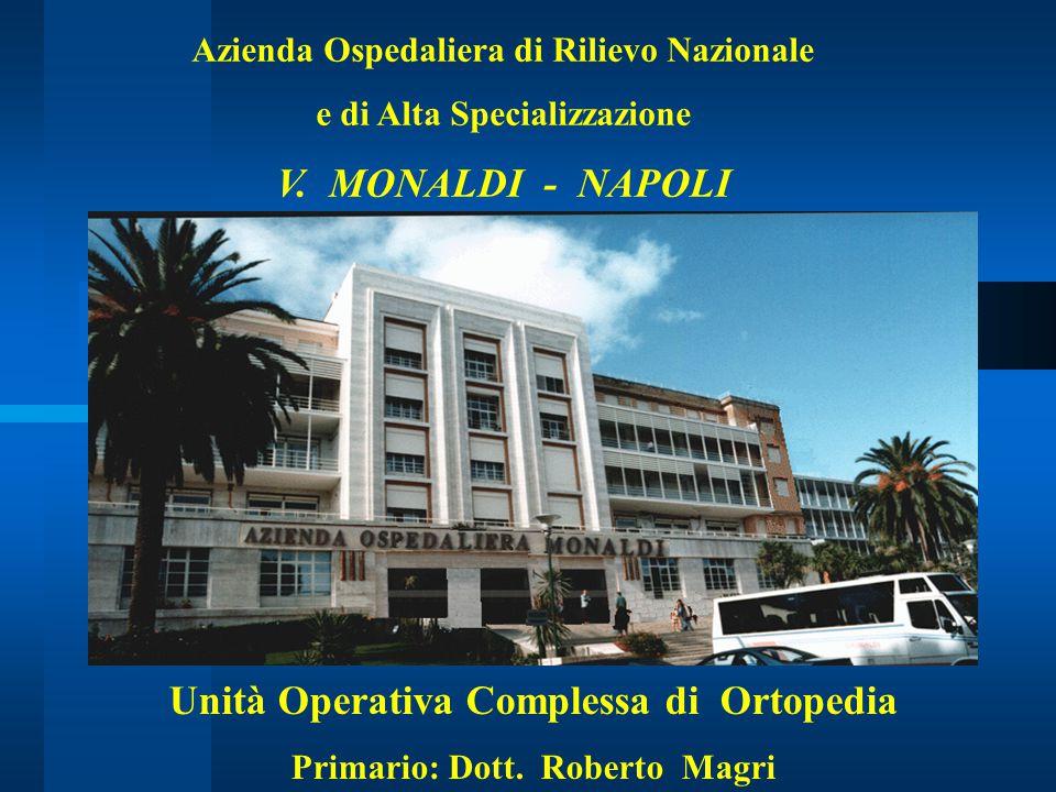 V. MONALDI - NAPOLI Unità Operativa Complessa di Ortopedia