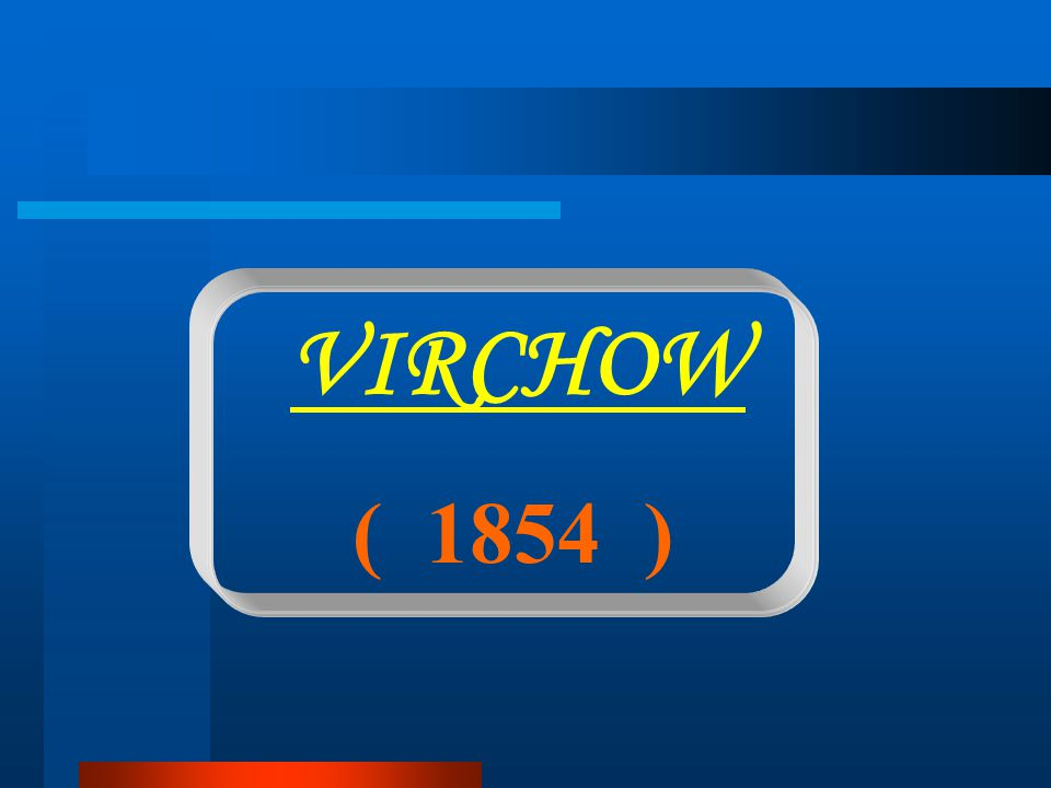 VIRCHOW ( 1854 )
