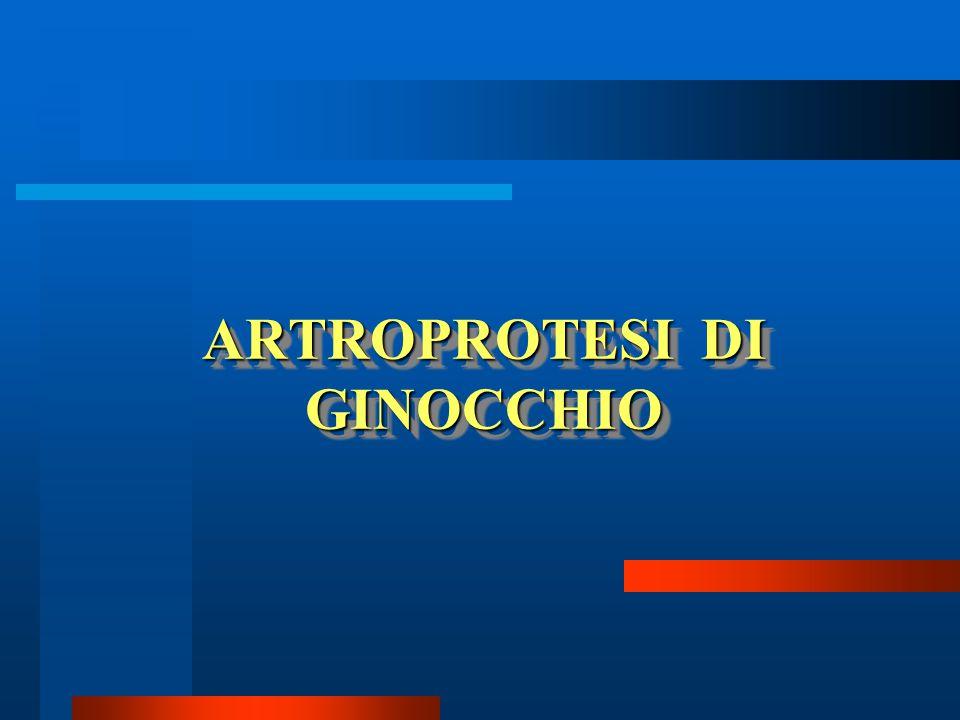 ARTROPROTESI DI GINOCCHIO