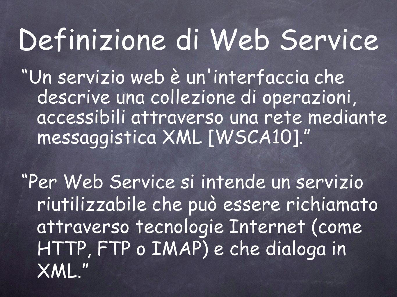 Definizione di Web Service
