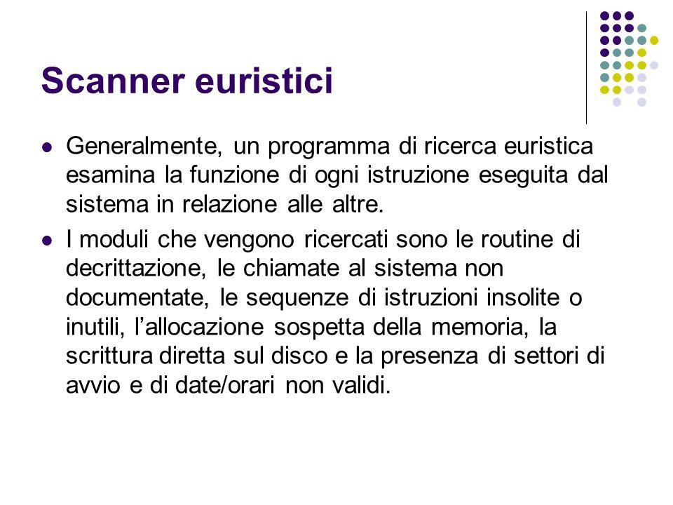 Scanner euristici