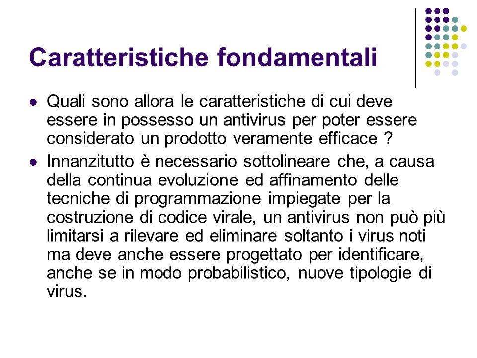 Caratteristiche fondamentali