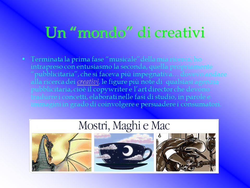 Un mondo di creativi