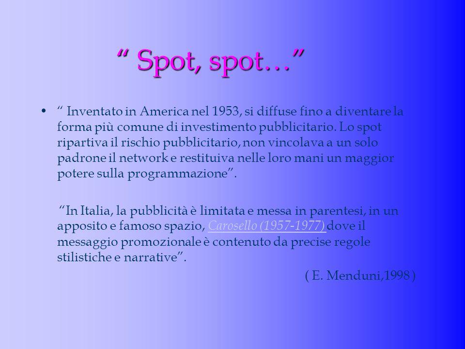 Spot, spot…