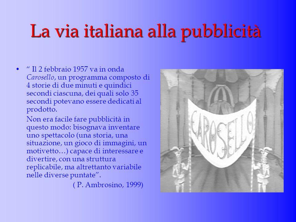 La via italiana alla pubblicità
