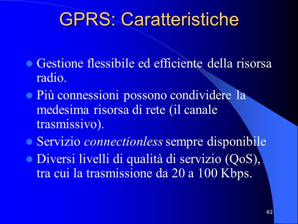 GPRS: Caratteristiche