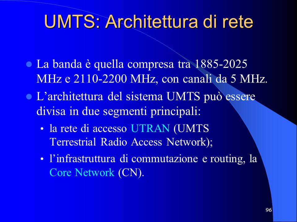 UMTS: Architettura di rete