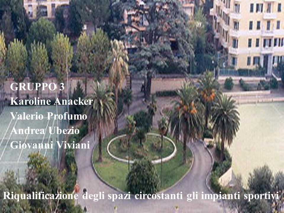 GRUPPO 3 Karoline Anacker. Valerio Profumo. Andrea Ubezio.