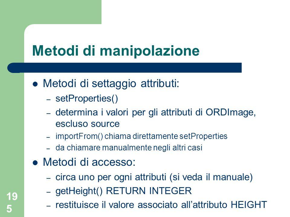 Metodi di manipolazione