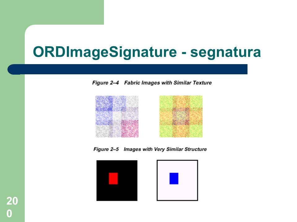 ORDImageSignature - segnatura