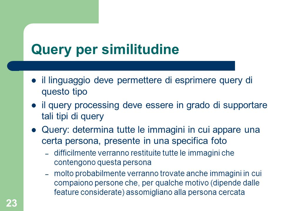 Query per similitudine