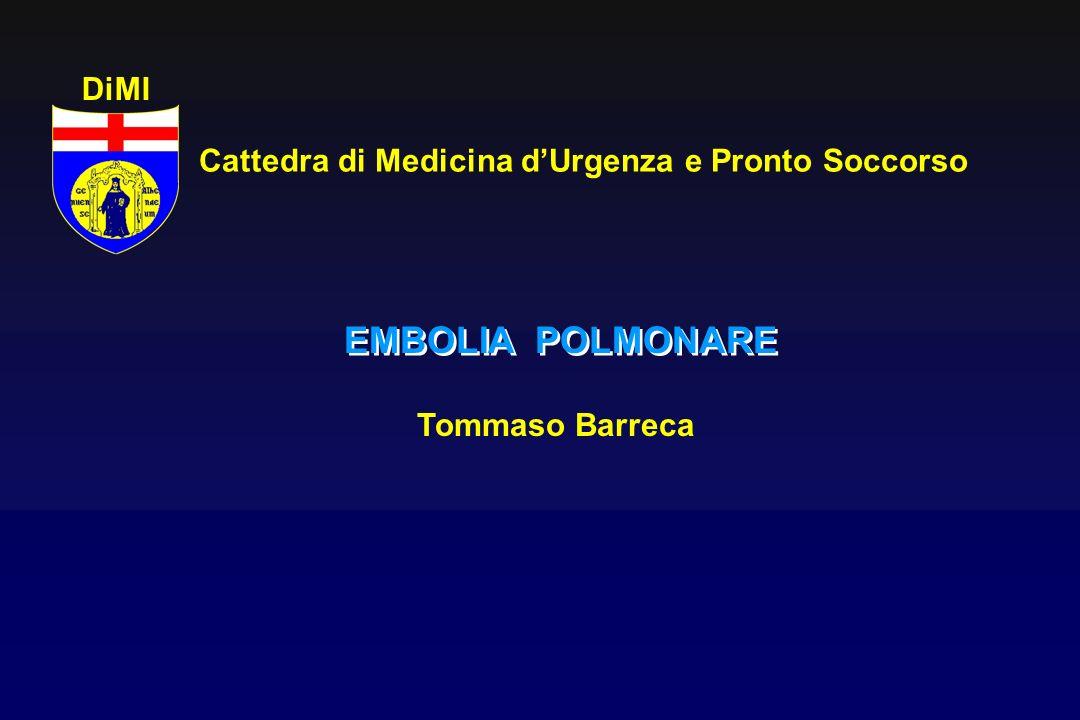 Cattedra di Medicina d'Urgenza e Pronto Soccorso