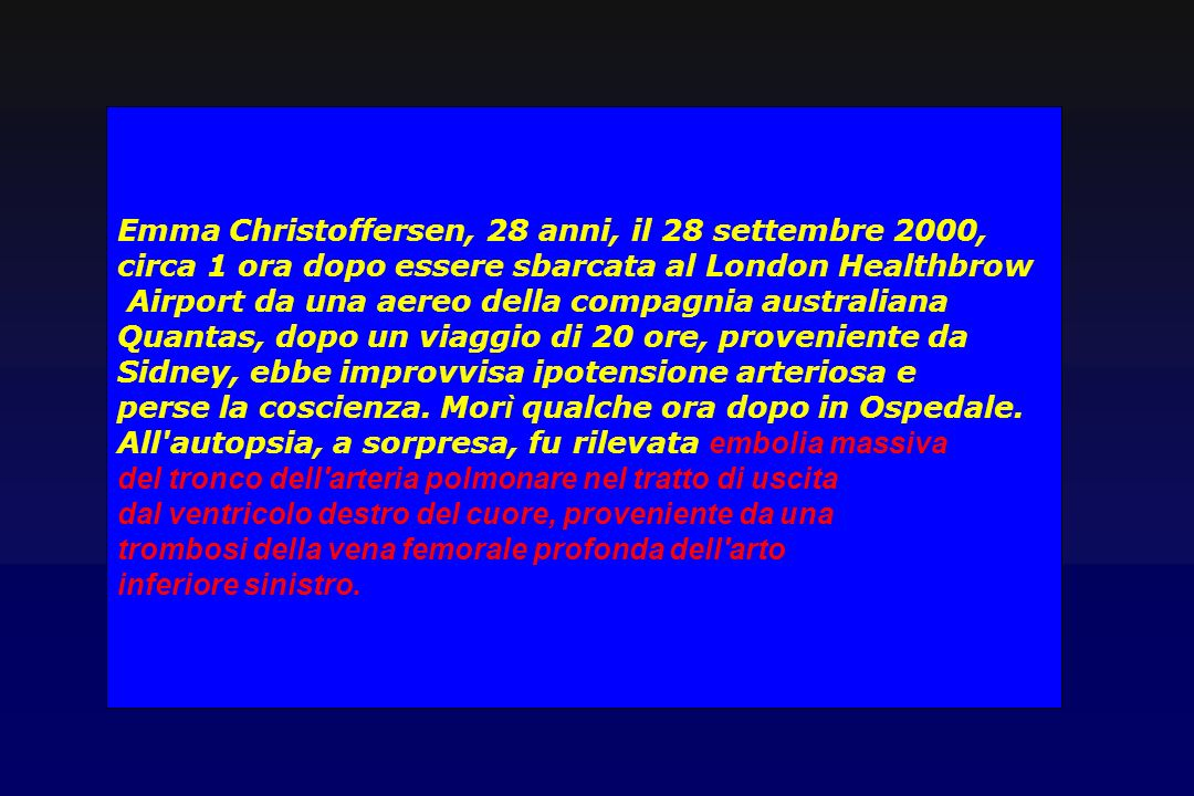 Emma Christoffersen, 28 anni, il 28 settembre 2000,