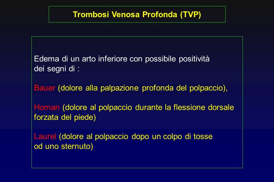 Trombosi Venosa Profonda (TVP)